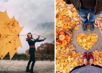 Осіння фотосесія: більше 20 фото ідей для фотографа