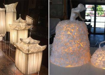 Неймовірні світильники із пап'є-маше