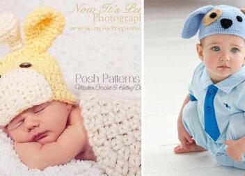 Цікаві шапочки для малюків. Ідеї для батьків