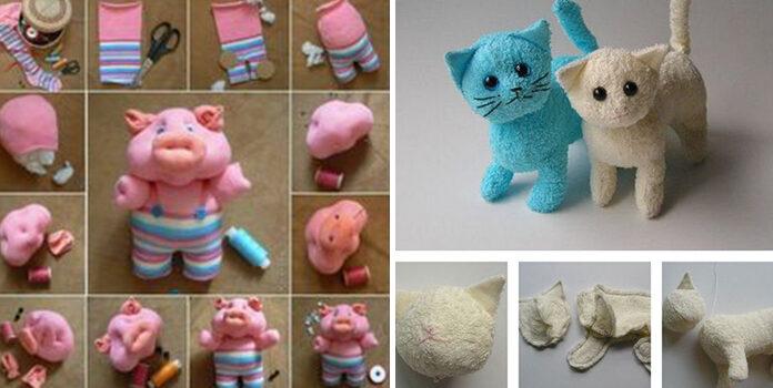 Як зробити іграшку із того, що є у кожного вдома