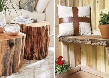Дерево в інтер'єрі. Створюємо цікаві речі з деревини
