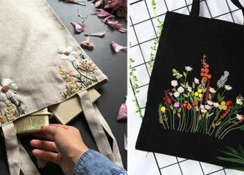 Модно та стильно: прикрашаємо сумки вишивкою