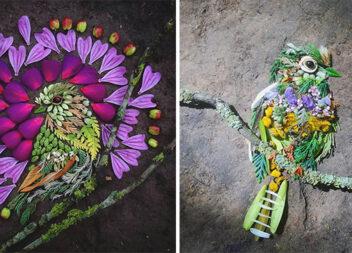 Дивовижне мистецтво із рослин
