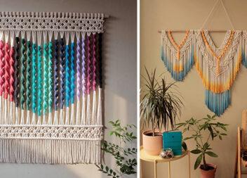 Настінні макраме: модний декор методом плетіння