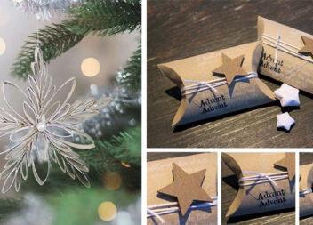 Святковий декор із картонних втулок. 30 ідей