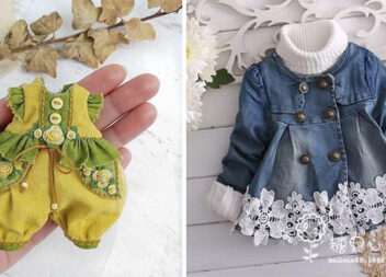 Одягаємо ляльку: кілька стильних речей для модниці