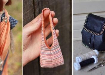 Мініатюрні сумочки та рюкзачки - стильні аксесуари для ляльки. Викрійки