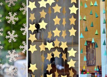 Готуємось до зими: декоруємо вікна паперовими композиціями