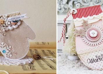 Листівка-рукавичка - крутий варіант привітання із Новим роком та Різдвом