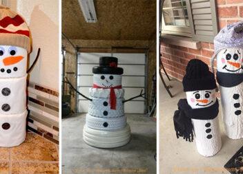Креативний сніговик: створюємо декор із різних матеріалів