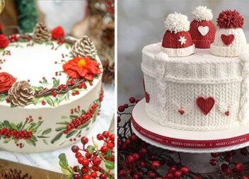 17 ідей новорічного торта