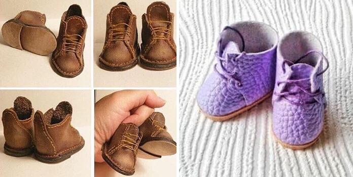 Як пошити взуття для ляльки: лекала та ідеї для батьків, майстрів та малечі (20 фото)