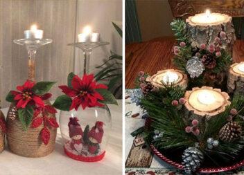 Композиції із свічками: доступний декор, який можна виготовити вдома