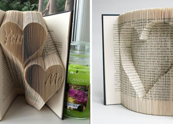 Мистецтво складання композицій із книжок. Ідеї + покрокове фото виконання