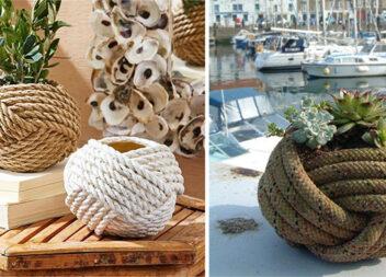 Просто і стильно: декор із мотузки. Схема плетіння