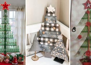 Створюємо новорічну ялинку без класичного деревця. Креативні ідеї для сміливих