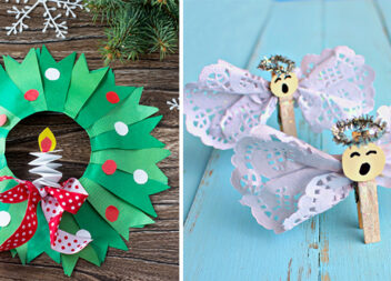 Що можна зробити із дітьми до Нового року та Різдва. 30 ідей та покрокових фото поробок