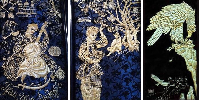 Неймовірна вишивка соломою від Наталії Лашко та її родини з Кам'янця-Подільського