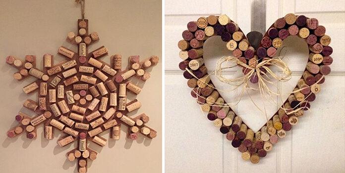 Композиції із корків з-під вина