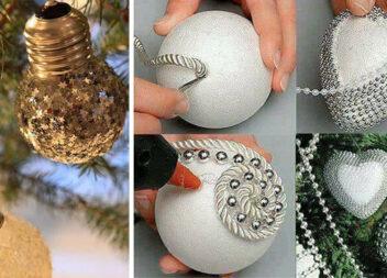 Створюємо новорічні прикраси. Добірка ідей та майстер-класів