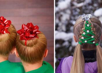 Найкреативніші новорічні зачіски. Ви будете в центрі уваги!