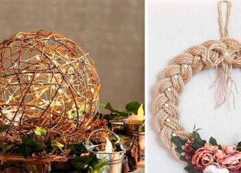 2 чудові ідеї з мотузки, які можна зробити самотужки