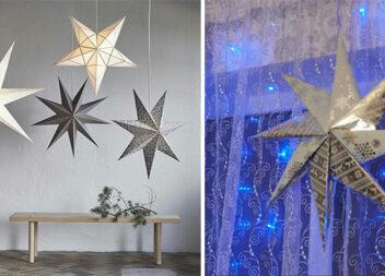 """Новорічна прикраса, яку зручно зберігати: зірка як з """"Ікеа"""""""