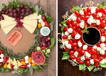 16 дивовижних різдвяних вінків із закусок. Ідеальна ідея для цього свята