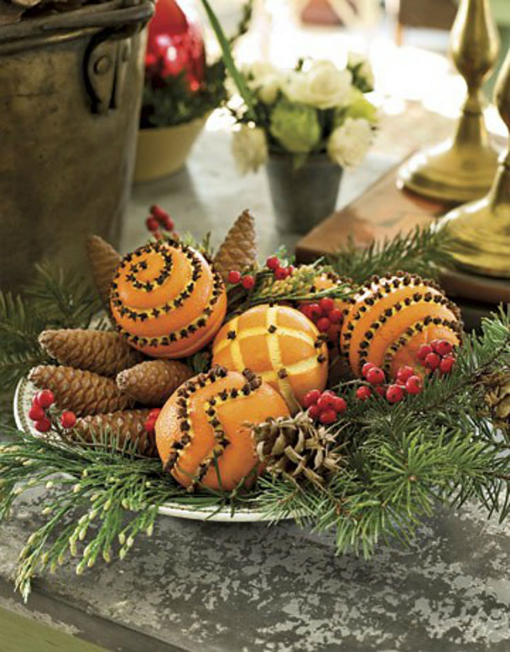 40 композицій з цитрусових для новорічного декору