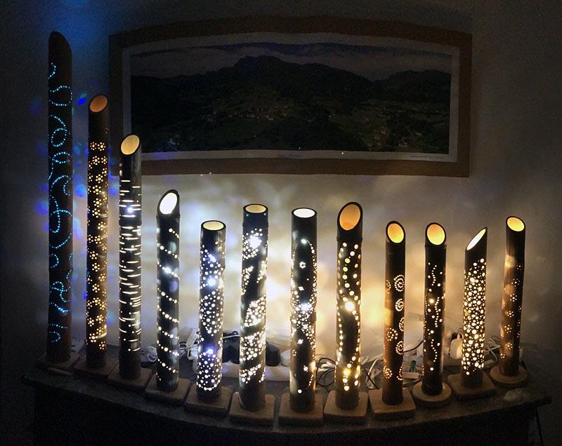 Оригінальні світильники своїми руками