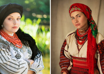 Краса української хустки під об'єктивом талановитого фотографа
