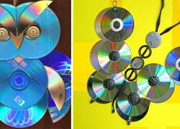 Що створити із старих CD/DVD дисків