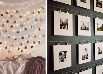 18 способів прикрасити інтер'єр своїми фотографіями