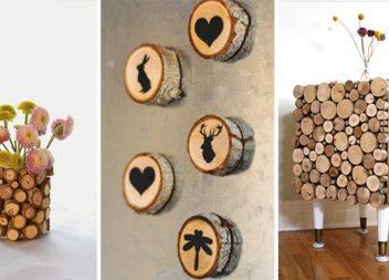 23 ідеї декору із деревини
