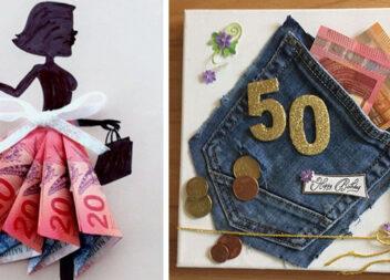 Як подарувати гроші. Ідеї креативних листівок