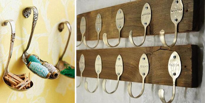 23 дивовижні ідеї з ложок, виделок та іншого кухонного начиння