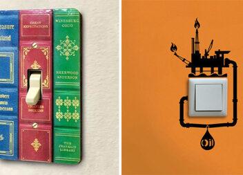 Як змінити вигляд старого вимикача: 15 оригінальних ідей