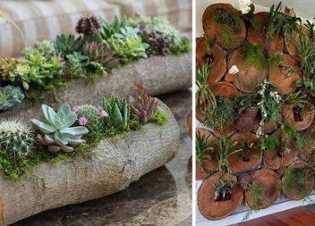 Композиції в деревині - модний еко тренд