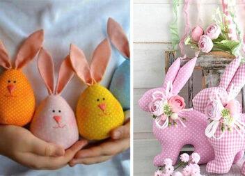Ідеї та шаблони для пошиття кроликів та зайченят