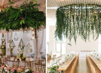 Фантастичний декор із вертикальних рослин для святкових подій