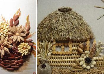 Чудові композиції із використанням природних матеріалів (19 фото)