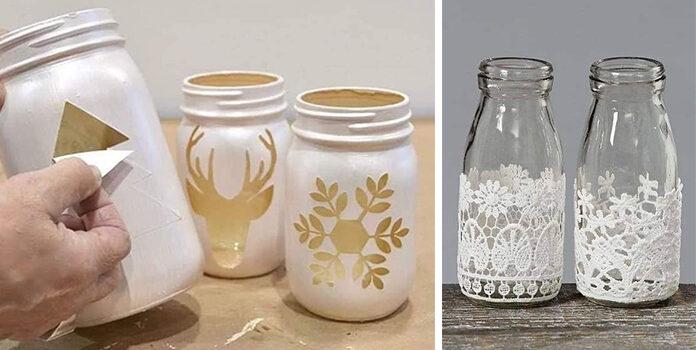 Як задекорувати звичайну скляну баночку. Ідеї для реалізації + покрокові фото