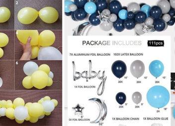 Як зробити самотужки красиву композицію із повітряних кульок. Інструкції