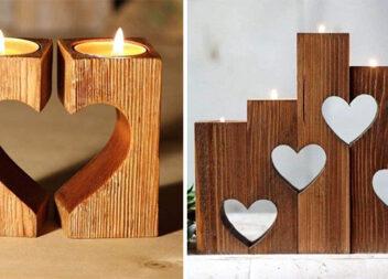 """Дерев'яні вироби в стилі """"l'amour"""""""