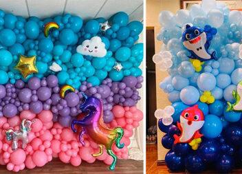 Класні варіанти фотозони із повітряних кульок