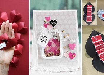 Листівки до Дня закоханих самотужки + бонус кольорові аплікації для друку