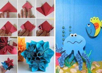 Дитяча творчість: що можна зробити із паперу