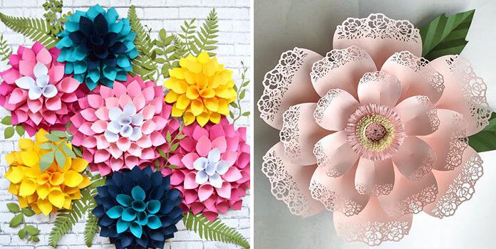 15 паперових квіток, які можна реалізувати вдома
