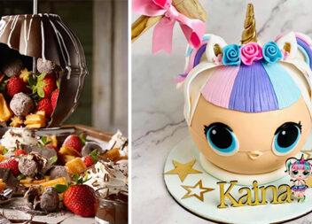 Шоколадна піньята: новий цікавий десерт до Дня народження