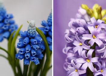 Дивовижні квіти з холодного фарфору: ідеї, рецепти та відео майстер-класи